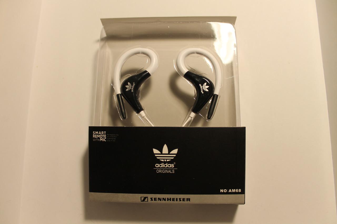 Наушники-гарнитура Sennheiser Adidas AM68 белый