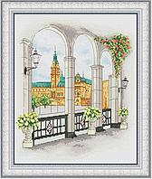 Набор для вышивки крестом Ратуша OLANTA VN-090