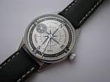 Часы Молния, наручные. Механизм советский, от карманной Молнии, 3602, фото 8