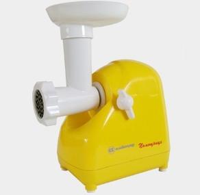 Мясорубка электрическая Белвар Помощница КЕМ-П2У мод. 302-07 (желтая)