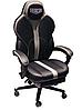 Компьютерное кресло VR Racer Edge Napa черный/серый