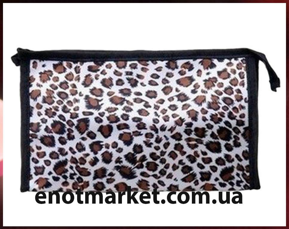 Косметичка леопард (21*13*6 см)