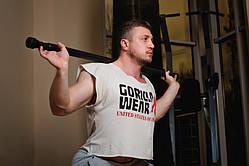 Бодибар-палка гимнастическая утяжеленная OnhillSport 6,5 кг