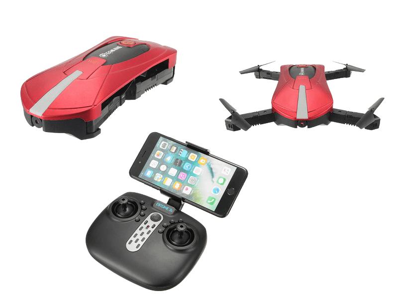 Квадрокоптер Eachine E52 с Wi Fi камерой | складной дрон