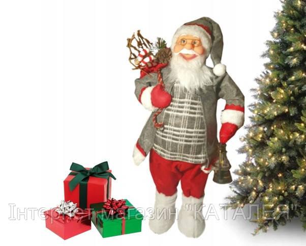 Фігурка новорічна Санта-Клаус 61 см