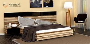 """Ліжко """"Соната""""з тумбами 160*200 від Миро-Марк(горіх балтімор)."""