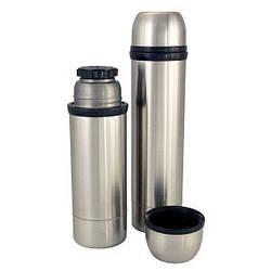 Термос Амет-Премьер из нержавеющей стали с узким горлом 0.5 литра