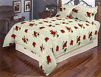 Постельное белье «Розы в бутонах» двуспальный