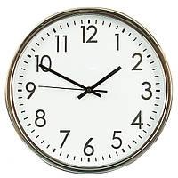 """Стильные настенные часы """"Silver"""" 30х4 см."""