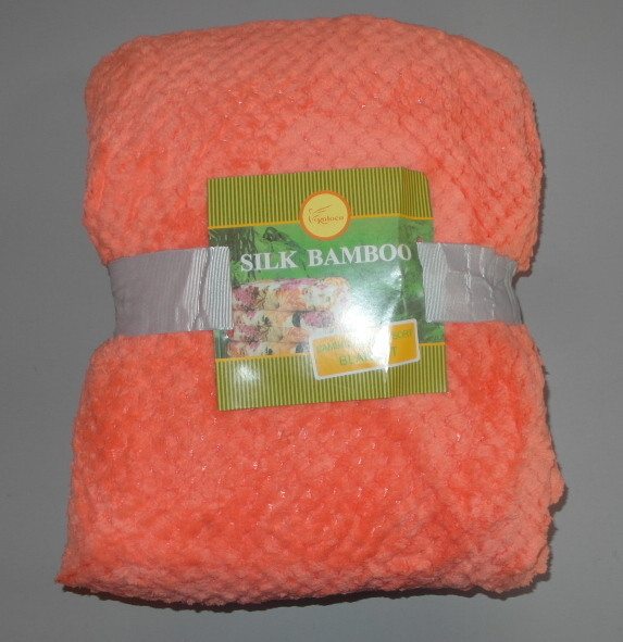 Плед простынь покривало из микрофибры  Koloco Silk 150х200 раз