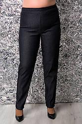 Теплые женские джинсы больших размеров Азиза
