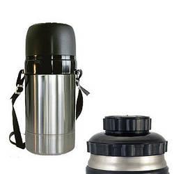 Термос Амет-Дорожный из нержавеющей стали с универсальным горлом 1.5 литра