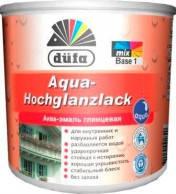 Аква-эмаль глянцевая Dufa Aqua-Hochglanzlack0,75 л