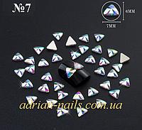 Фигурные камни сваровски для дизайна ногтей  №7