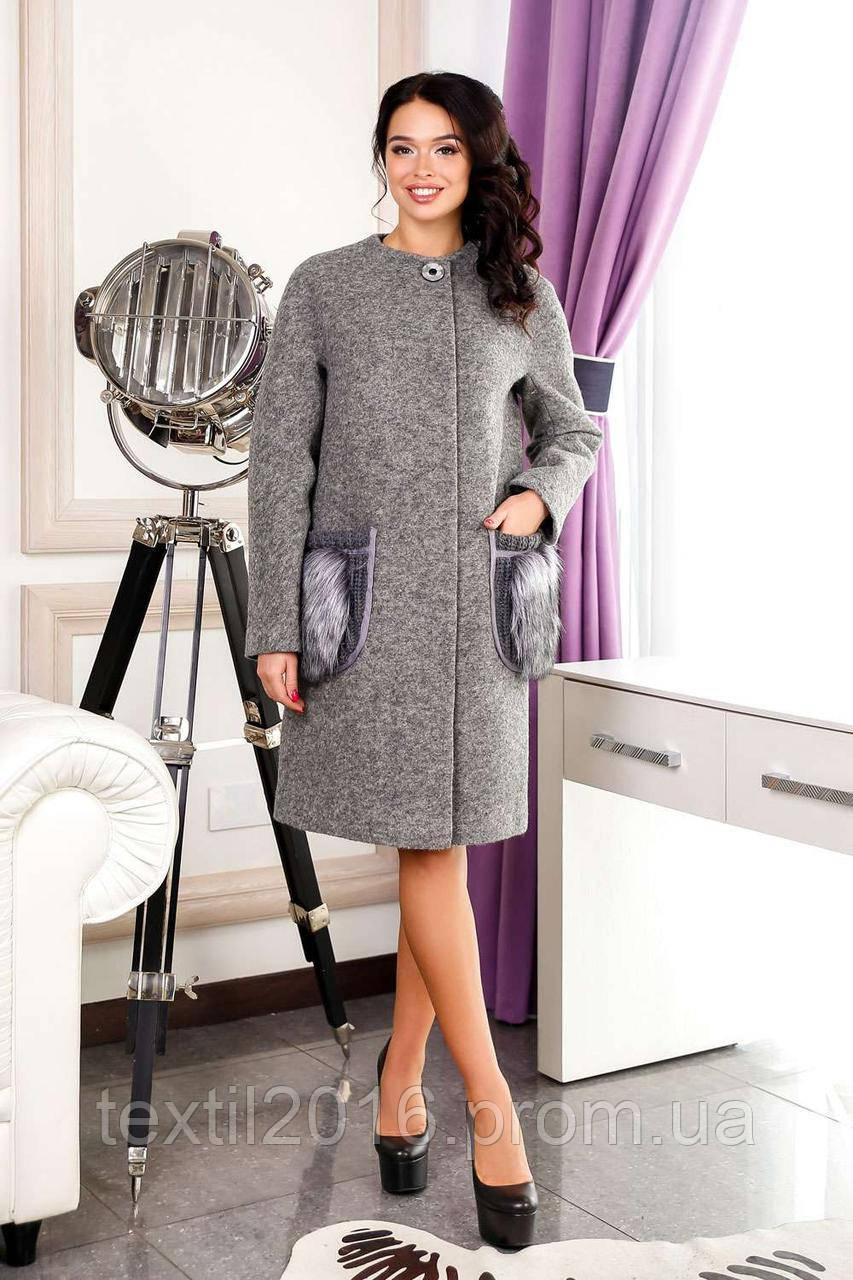 Пальто В-1064 Cost Тон 10
