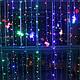 Гірлянда штора, завіса 3х2м 320 LED, фото 2
