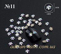Фигурные камни сваровски для дизайна ногтей  №11