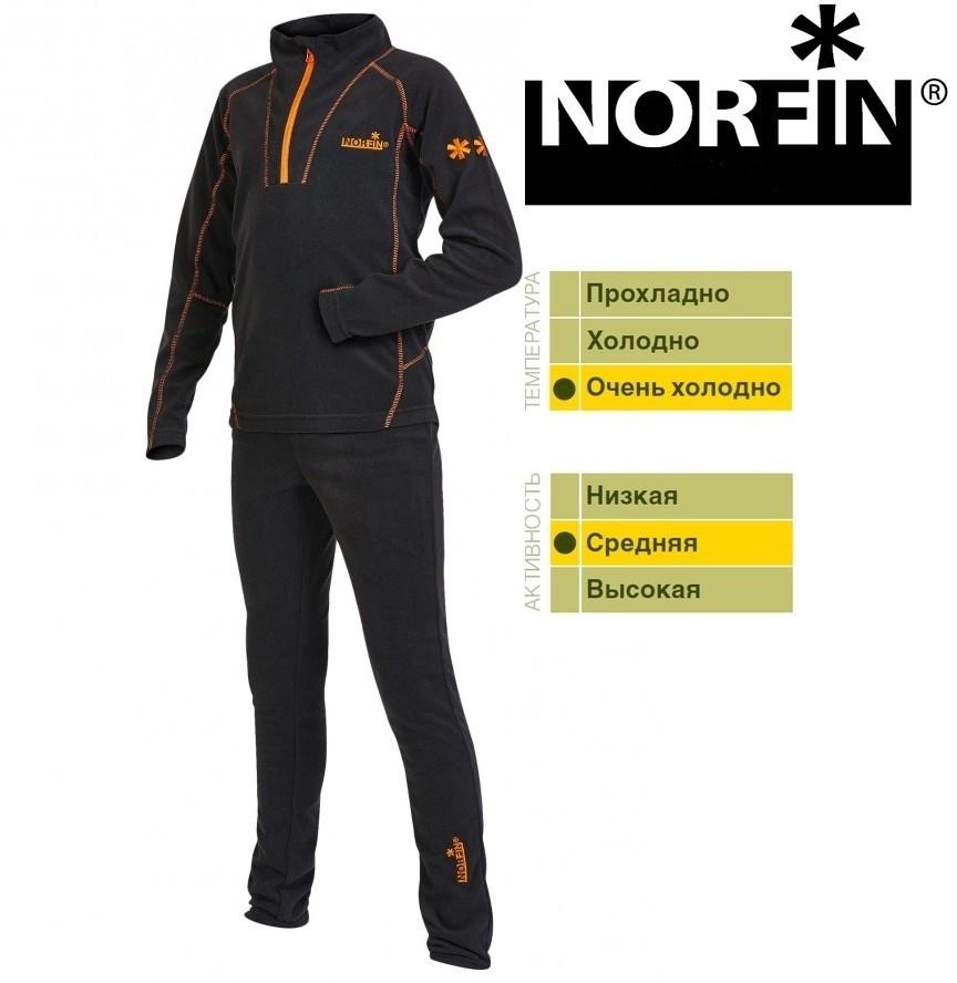 Термобелье подростковое Norfin NORD JUNIOR (1-й шар) р.164 / * 20