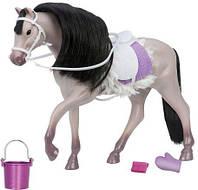 Игровая фигура LORI серая Андалузкая лошадь, LO38001Z