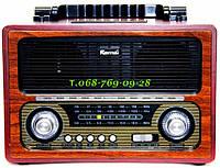 Радиоприемник ретро Kemai MD-1800BT (Bluetooth\USB\ SD\MP3\microSD\220V)