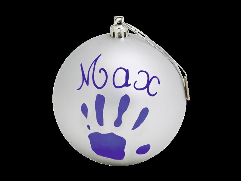Baby Art - Новогодний шар, Серебряный