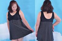 Слитный купальник платье для полных женщин большого 60-62 размера