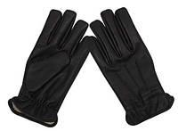 Защитные перчатки кожа + кевлар MFH