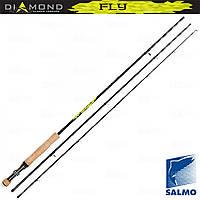 Удилище Salmo Diamond Sky Fly 2.85м/класс 6-7