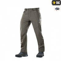 M-TAC ШТАНИ SOFT SHELL WINTER OLIVE, фото 1