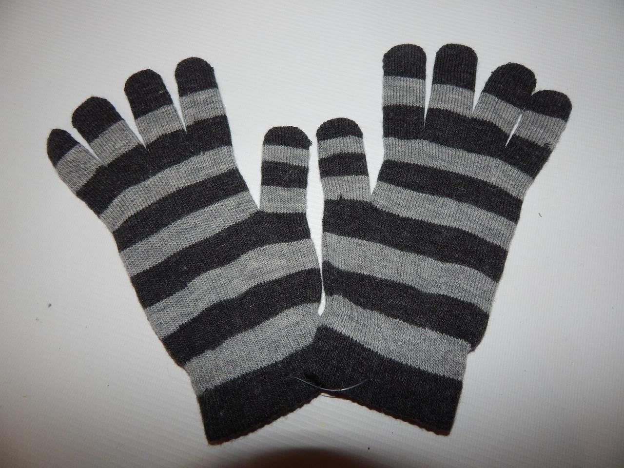 Перчатки женские трикотажные р.S (6) 018PGZ