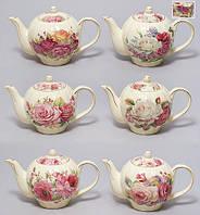Чайник фарфоровый 850мл, 6 видов BonaDi 209-V17