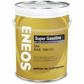 Масло моторное ENEOS SM 5W50, 20 литров