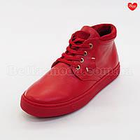 Женские красные ботинки Tucino, фото 1