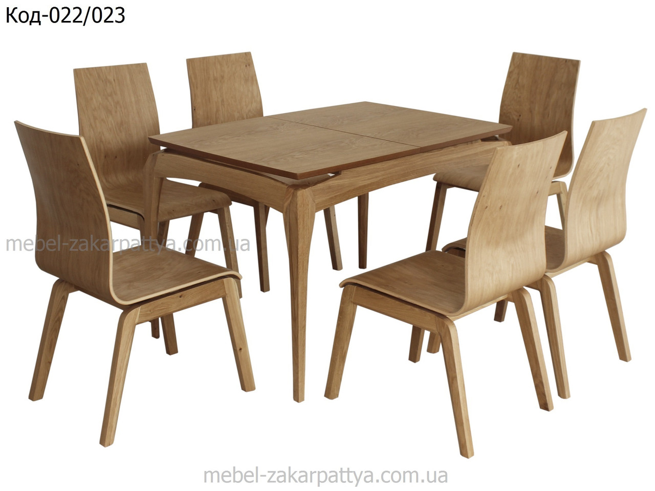 Комплект обеденный (стол и стулья) Код-022/023