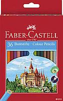Набор цветных карандашей Faber-Castell  36 цвет.