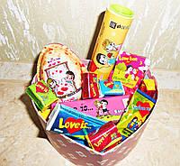 Сладкий набор Love is в подарочной упаковке Большой