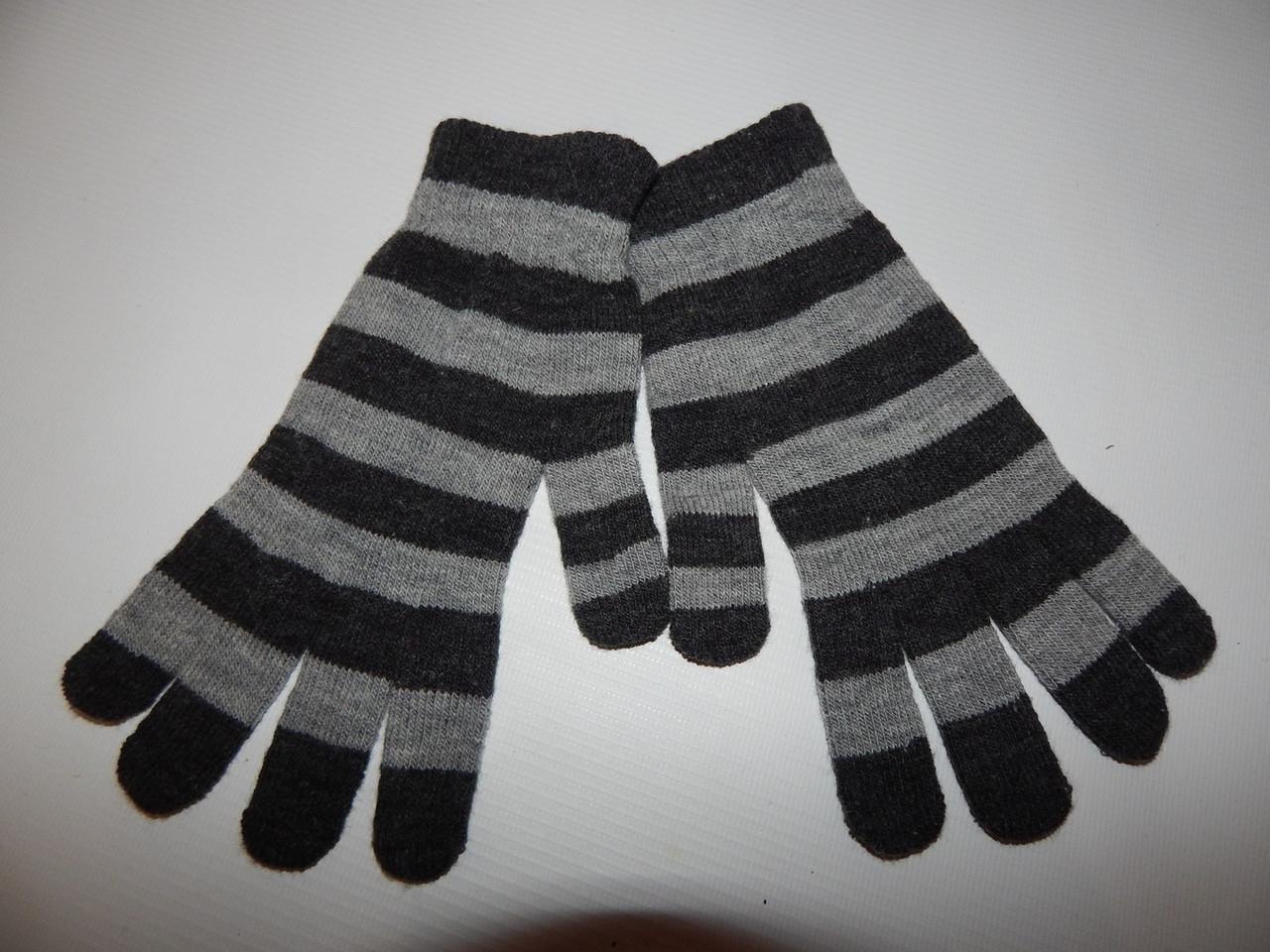 Перчатки подросток трикотажные р.L (6) 007DDP