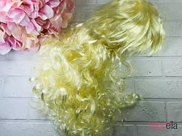 Перуку блондинки хвилястий довгий 53 см,120 гр для ранків, свят, карнавалів
