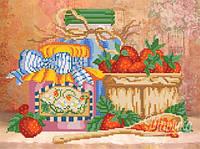 Схема для вышивки бисером Клубничное варенье РКП-170