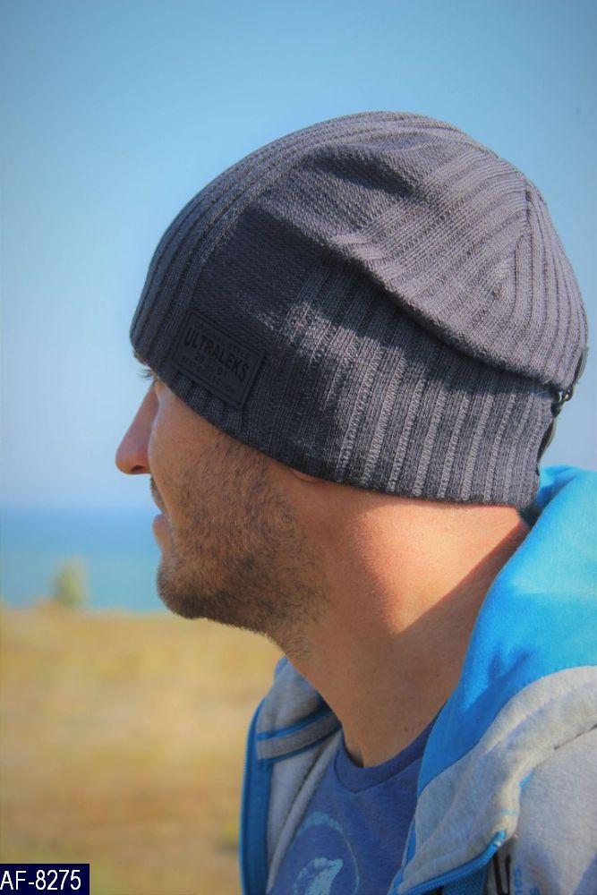 Мужская шапка Каен Размер: 55-58 Подкладка полар Состав: шерсть-60%, акрил-40% Производитель: leks
