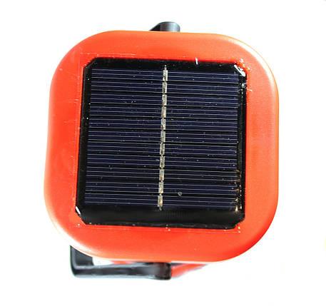 Фонарь светодиодный кемпинговый на солнечной батареи ,походные фонари., фото 2