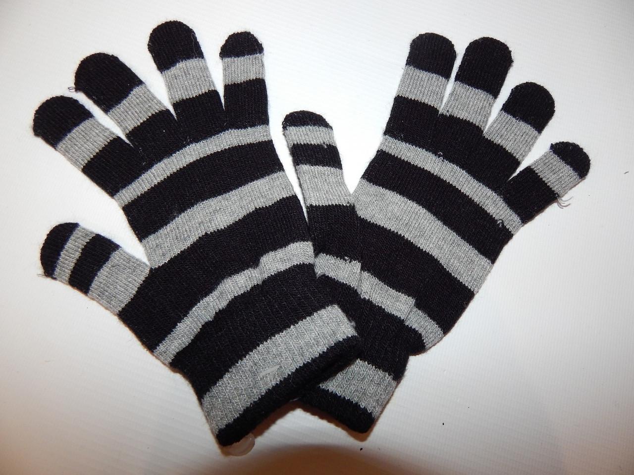 Перчатки женские трикотажные р.S (6) 021PGZ