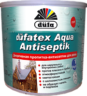 Dufatex Aqua-декоративная пропитка антисептик Дуб 0,75 л