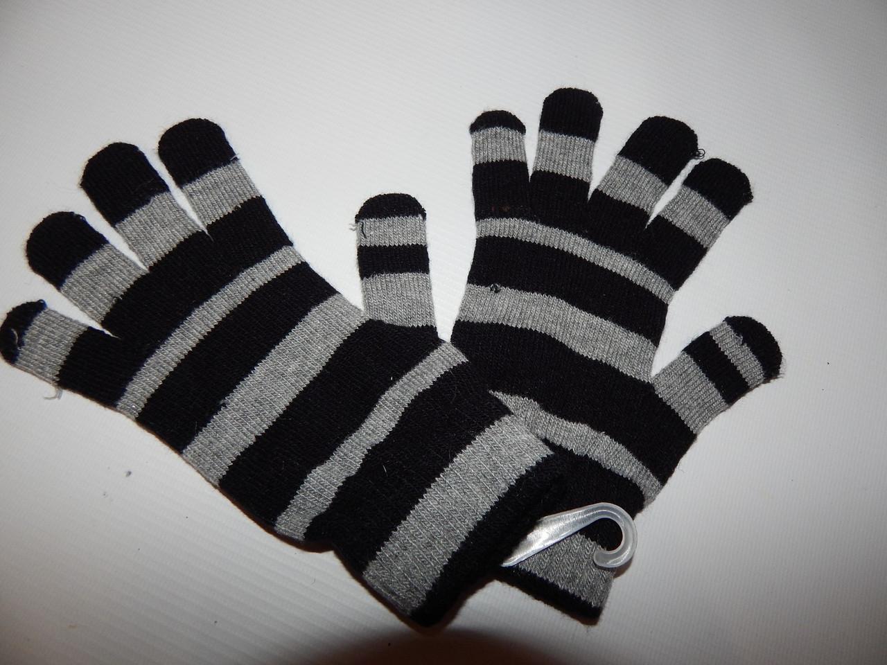 Перчатки подросток трикотажные р.M (5) 008DDP