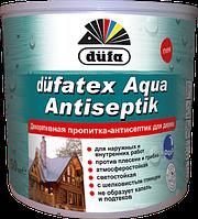 Dufatex Aqua-декоративная пропитка антисептик Махагон 0,75 л