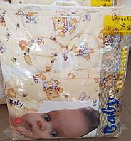 Детская постель 8-м элементов беж мишки с медом