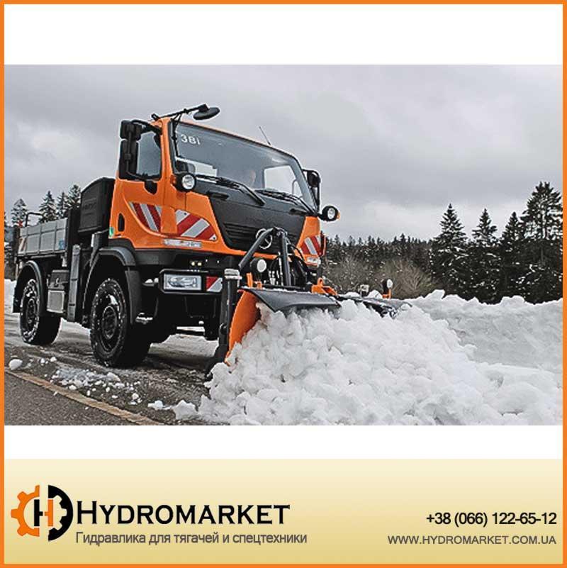 Односекционные снегоуборочные отвалы серии CPM AEBI-SCHMIDT