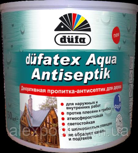 Dufatex Aqua-декоративная пропитка антисептик Махагон 2,5 л