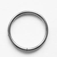 Кольцо сегментное 12 мм для пирсинга . Сталь 316L. , фото 1