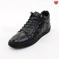 Мужские ботинки сбоку тиснение, фото 1